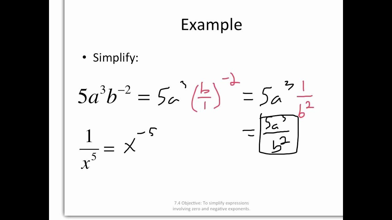 Pin By Naibe Oliveira On Palmeiras Campeao Exponent Worksheets Negative Exponents Simplifying Expressions