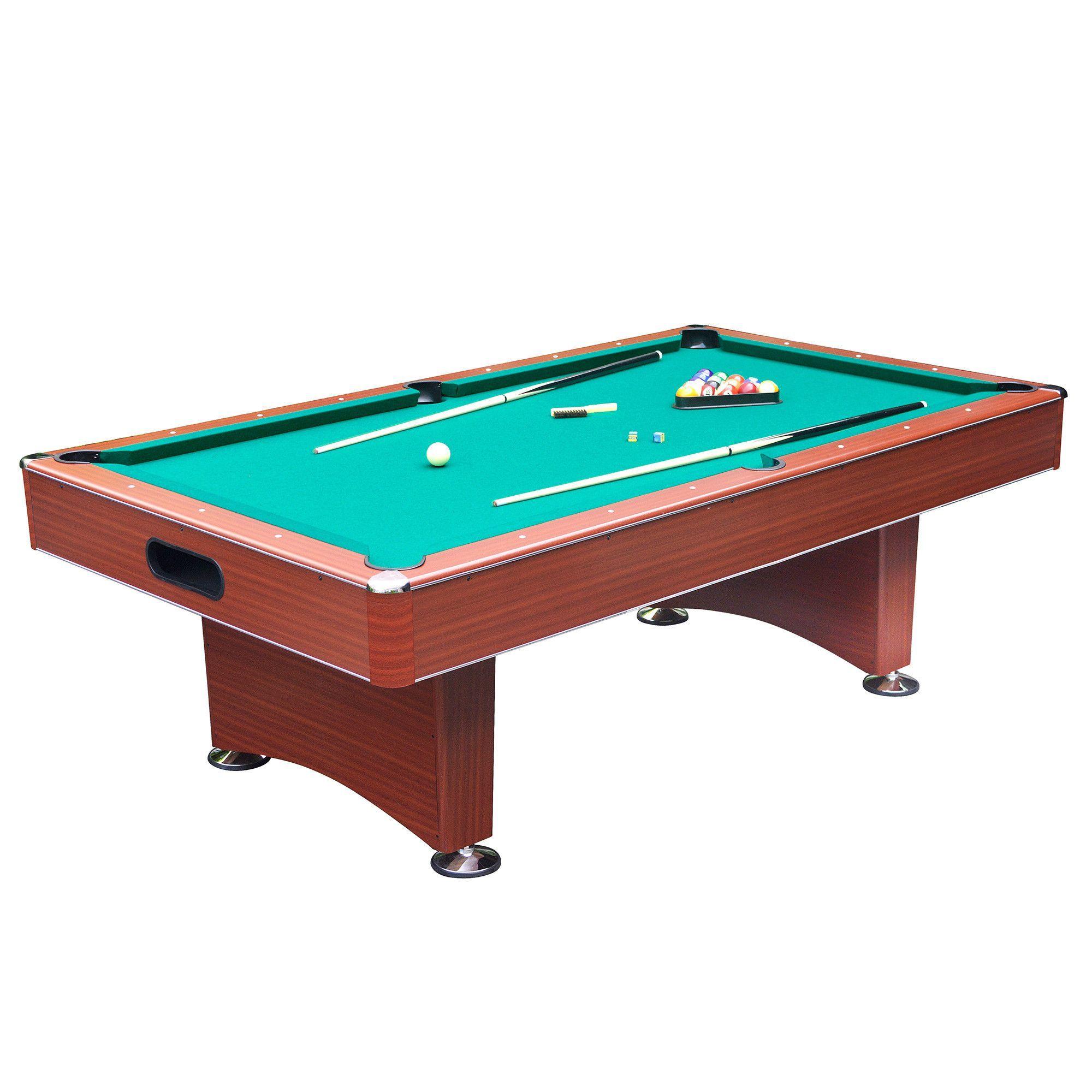 Carmelli Hathaway Sports Newport 8 Ft Deluxe Pool Table Internal