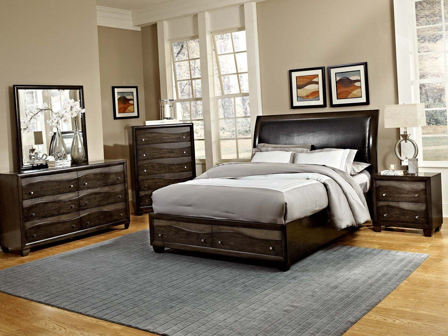 Best Grey Brown Bedroom Bedroom Panel Small Room Bedroom 640 x 480