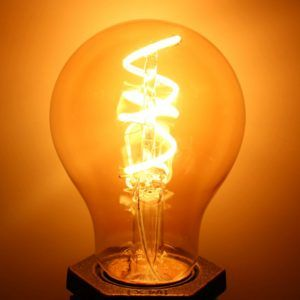 Spiral Led Bulb Dimmable Spiral Filament Bulb Available Selectionled Bulb Led Bulb Filament Bulb