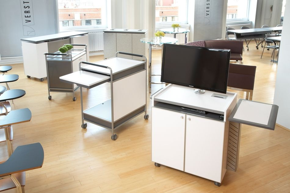 Formica mobili ~ Versteel s equip mobile av cabinet featured with formica sp