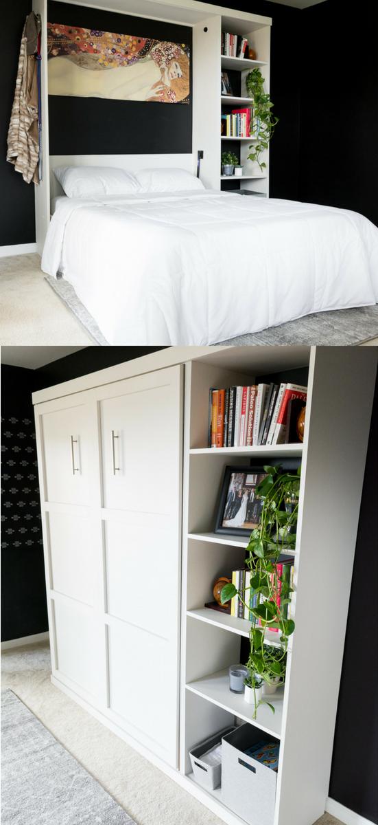 DIY Murphy Bed Plans // Murphy Bed Hardware Kit DIY images