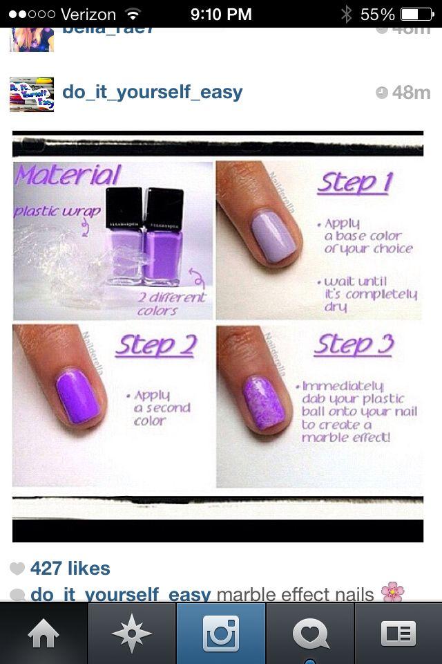 Plastic ball nail design