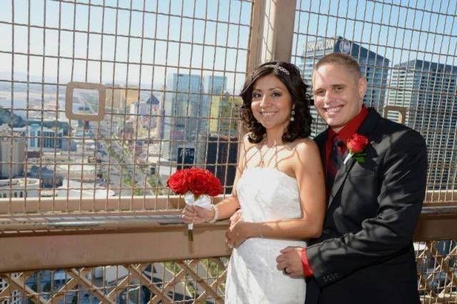 Eiffel Tower Las Vegas Wedding At The Paris