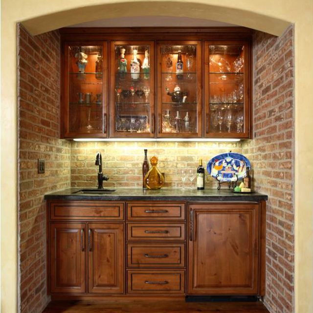 Love the brick!!!! And these are our cabinets: www.4pct ...