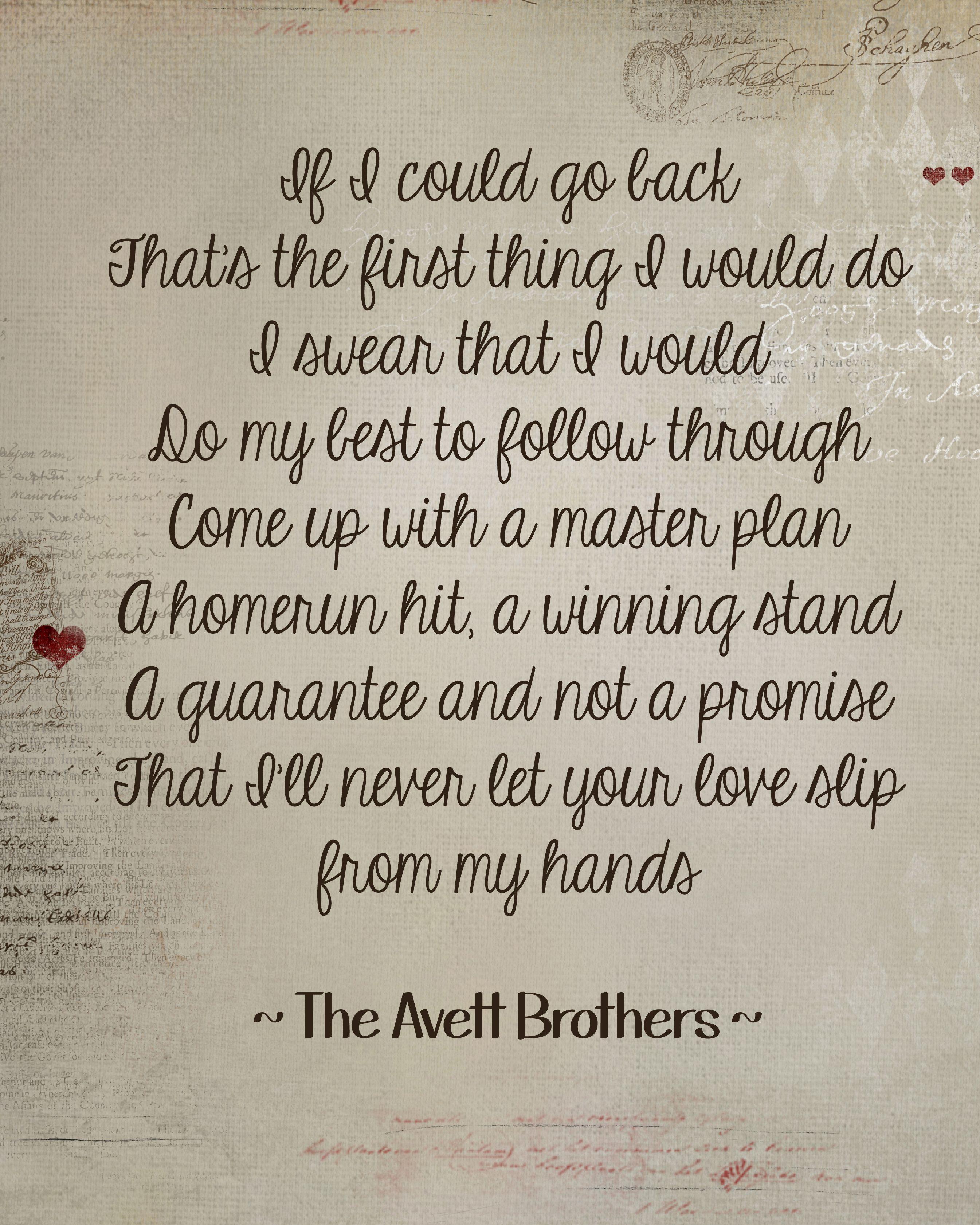 Avett Laundry Room Part - 30: If Itu0027s The Beaches - The Avett Brothers