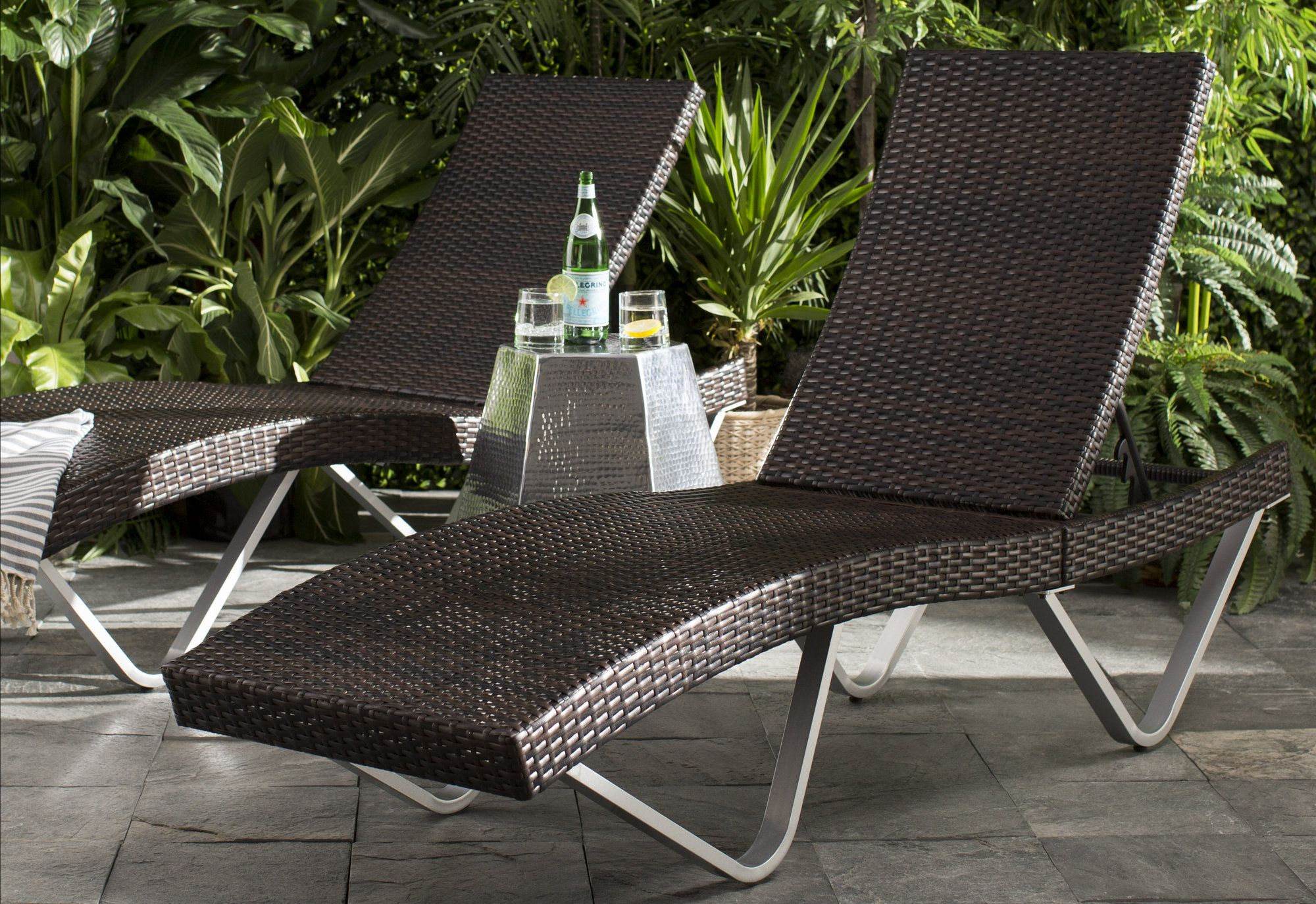 - Alijah Reclining Chaise Lounge Lounge, Furniture, Outdoor Seating