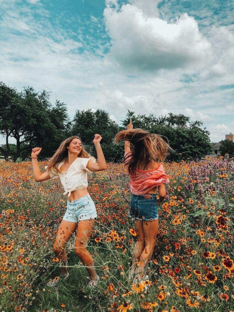 Картинки летом с друзьями