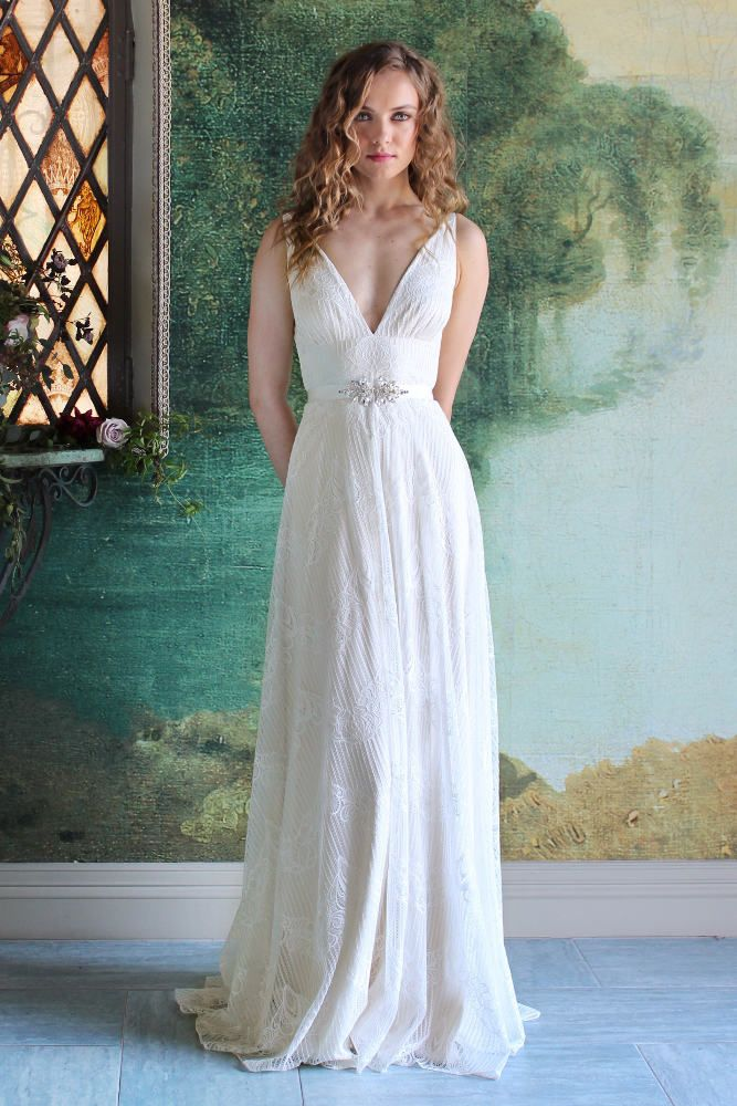 Robe de mariée Virginia disponible chez Plume Paris | Robes de ...