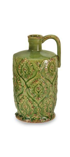 Green Rebecca Pitcher Vase