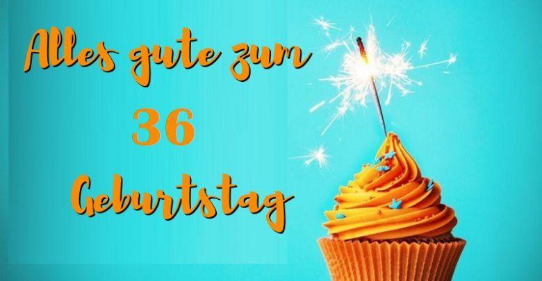 Alles Gute Zum 36 Geburtstag Geburtstag Bilder Cupcakes Desserts