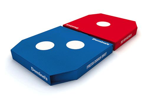 Domino New Box Design For Domino S Pizza