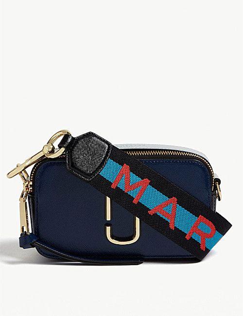 2993265f7ebb MARC JACOBS Snapshot Saffiano leather cross-body bag | SPRING SUMMER ...