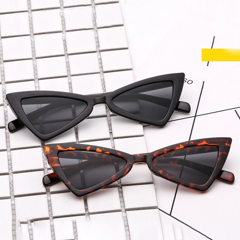 b81da0bf0da  0.99 - Hot Cat Eye Sunglasses Latest 90S Triangle Vintage Grunge Retro  Pointy Shades Sp  ebay  Fashion