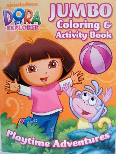 DORA The EXPLORER COLORING ACTIVITY BOOK D By BRENDON PUBLISHING 650