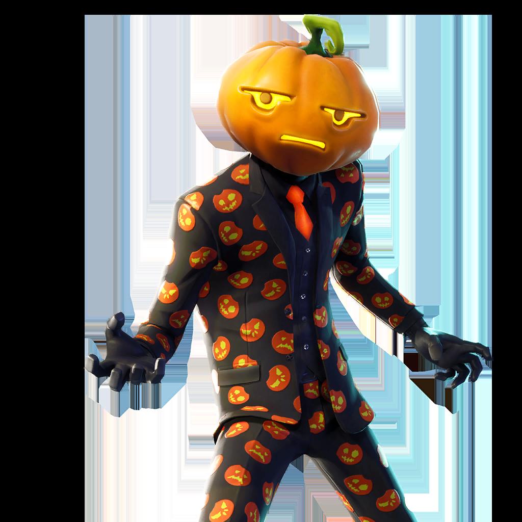 jack Gourdon Fortnite Skin Full Body PNG Image | Fortnite, Game character design, Halloween ...