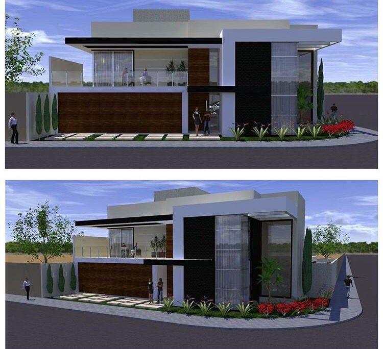 Projeto Arquitetônico Residencial em Condomínio Terra Santa por @Edifique Arquitetura.