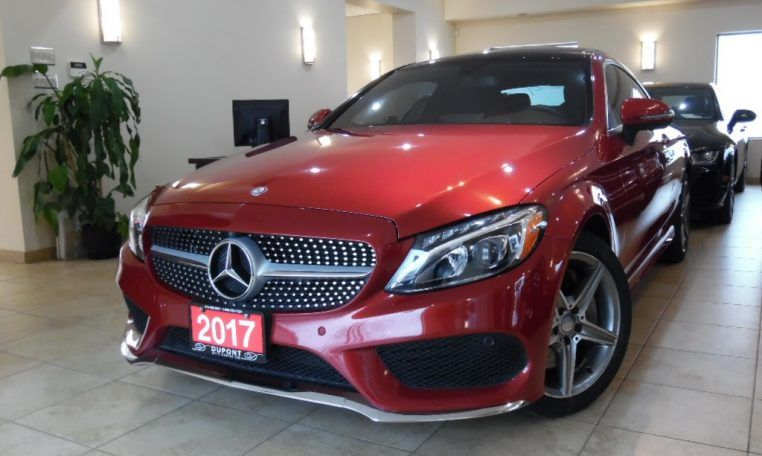 Pre Owned 2017 Mercedes Benz C300 4matic Coupe Amg In Toronto