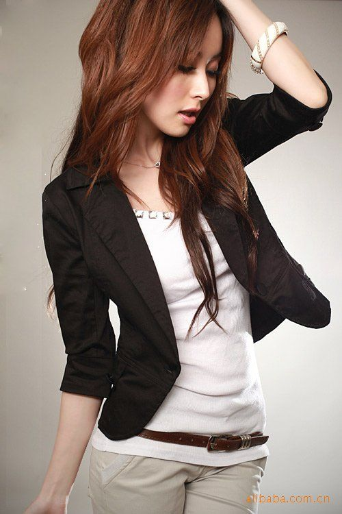 17 Best images about Korean Fashion (: on Pinterest | Blazers ...