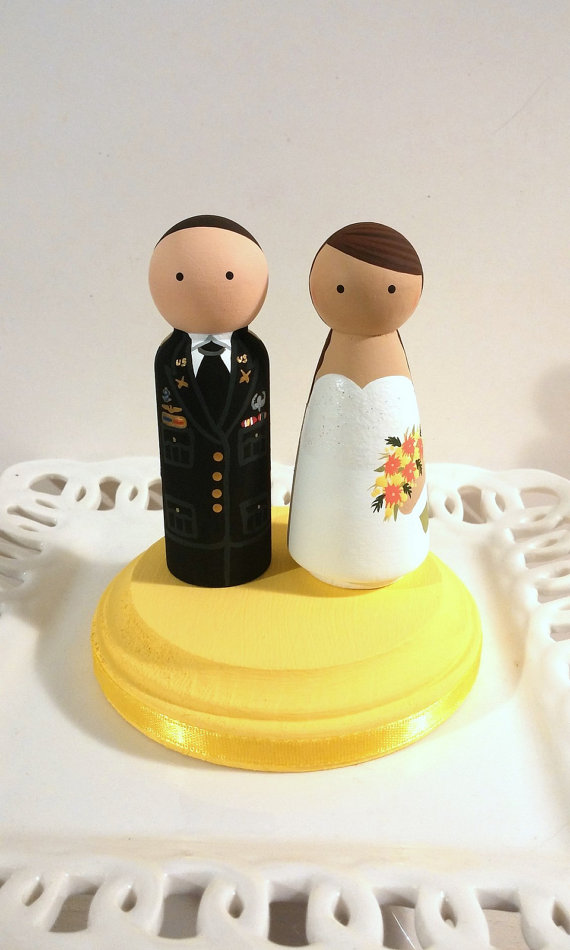 Military Service Cake Cuties Custom Cake Toppers | Top That Cake ...