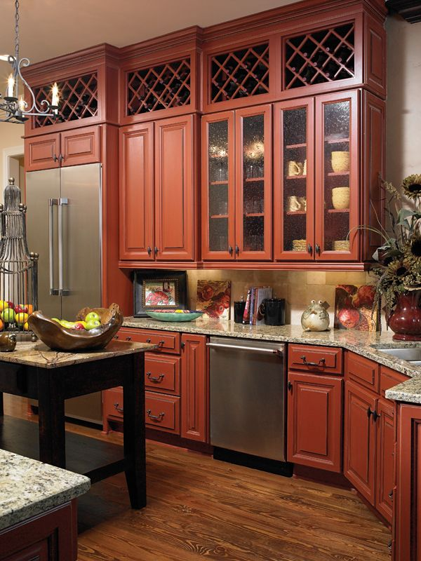 Wellborn Forest Madison-Bordeaux   Kitchen, Cabinetry ...