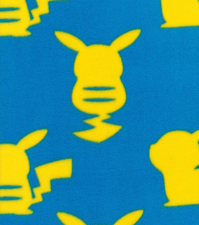 Pokemon fleece fabric