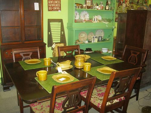 Johnson City Dining Room Sets Antique Shops Stores Table Settings Living