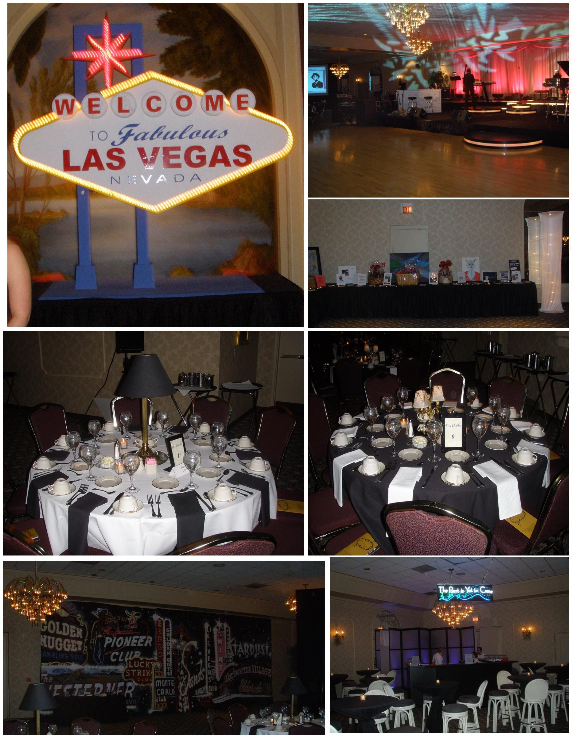 The Best Is Yet To Come Vintage Vegas Rat Pack Themed Formal