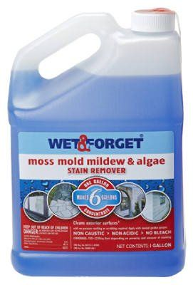 Wet And Forget 10587 1 Gallon Moss Mold And Mildew Stain
