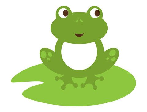 lily pad frog wall decal frogs wall decals and snail rh pinterest com free clipart frog on lily pad