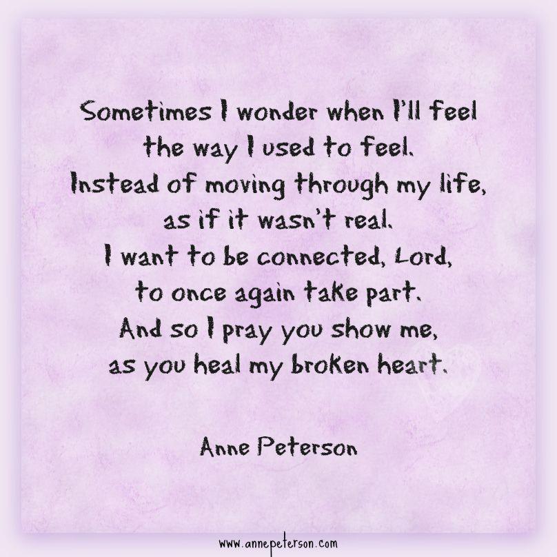 numb, disconnected, grief, prayer, sadness, broken heart ...