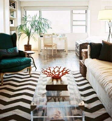Love The Print Color And Acrylic Rugs In Living Room Chevron Rug Living Room Chevron Rugs