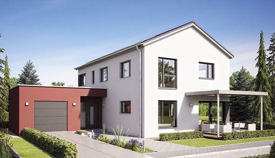 Zwei Vollgeschosse Unterm Satteldach Haus Haus Architektur Hanse Haus