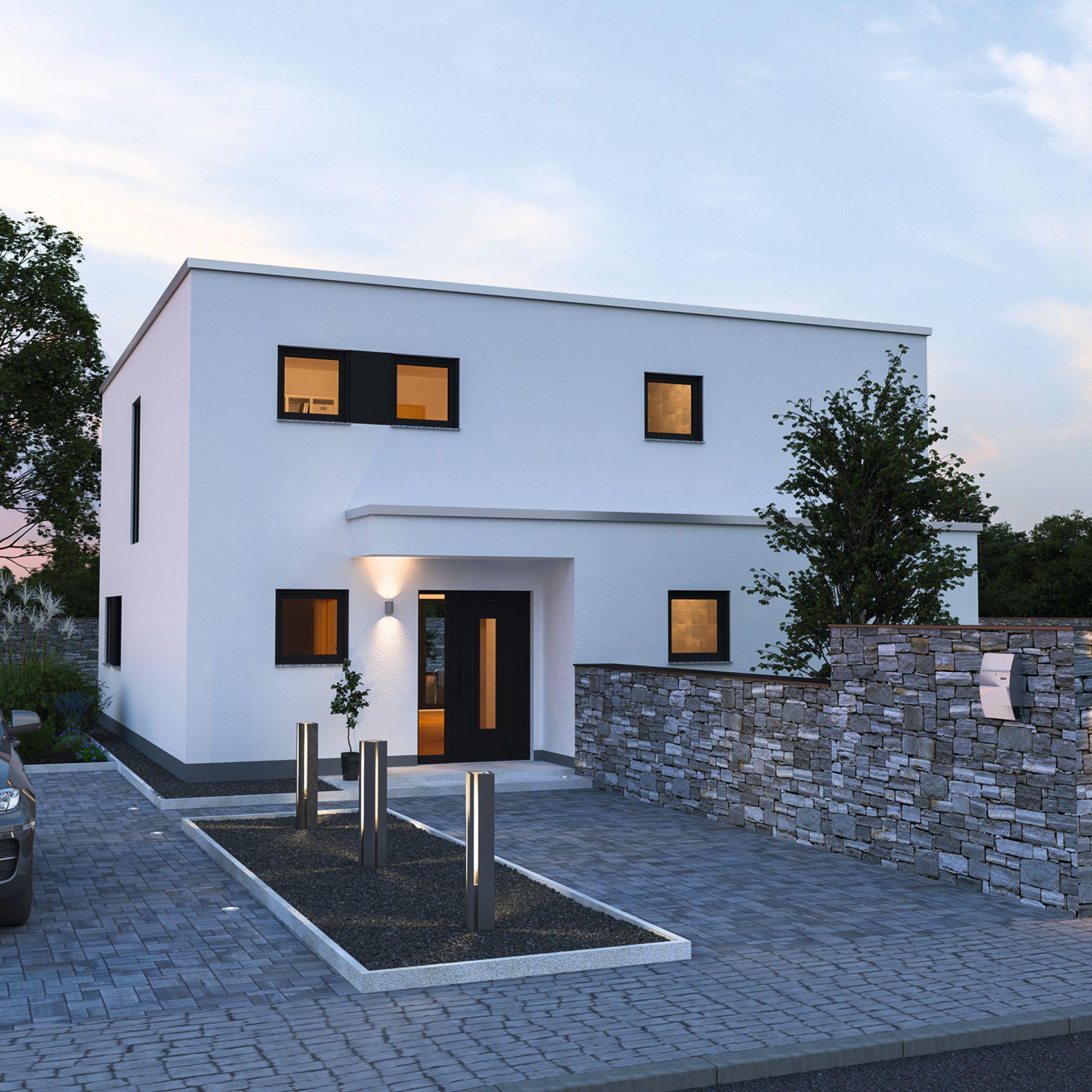 Alea 168 - schlüsselfertiges Massivhaus #ausbauhaus #schlüsselfertig ...