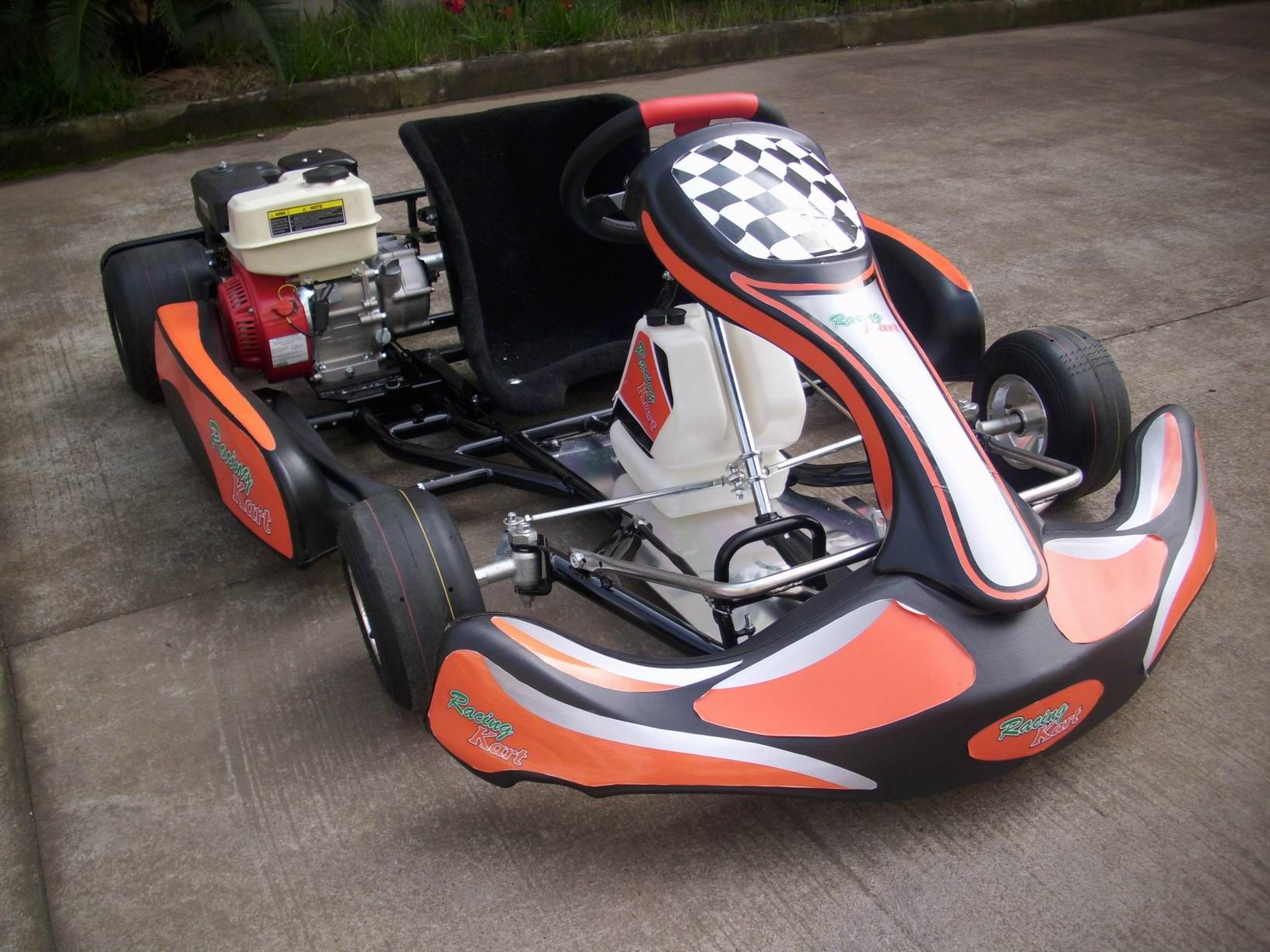 Looks awesome. Personally, don\'t like the colours; but the kart ...