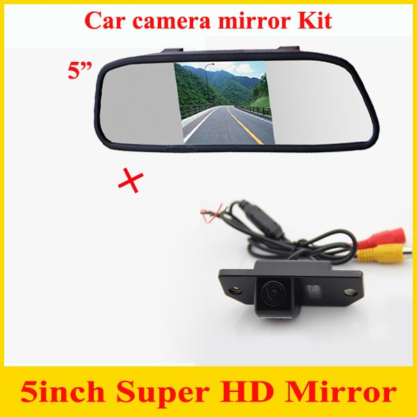 5 Mirror For Car Rear View Parking Camera For Ford Focus 3c