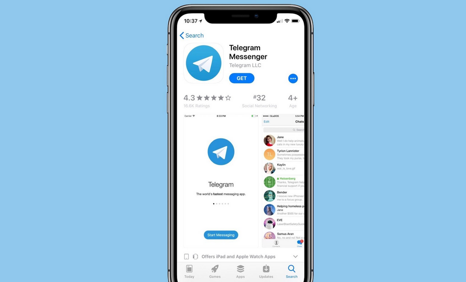 Telegram Brings Silent Message Feature & More to iOS