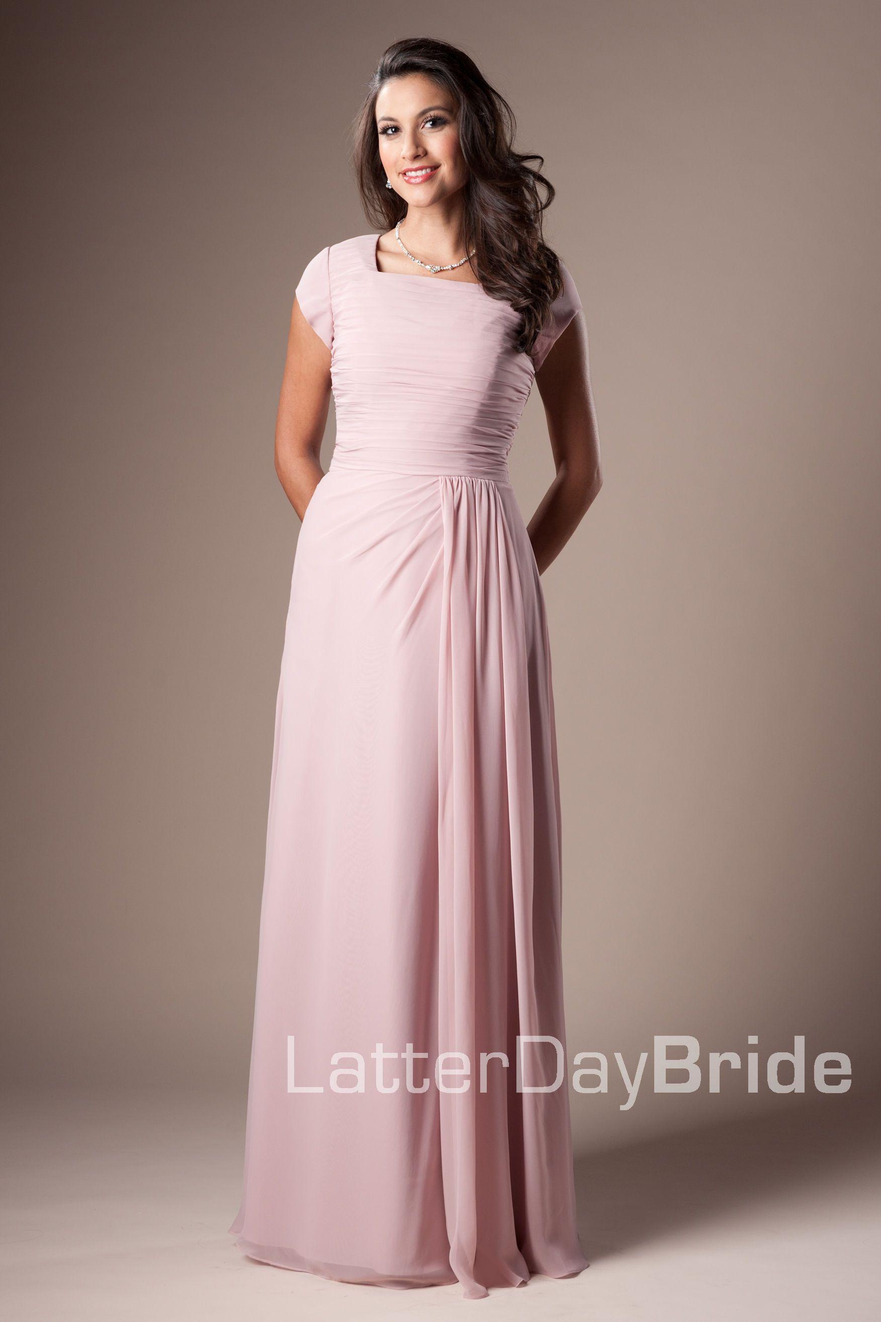 Bridesmaid Prom Shaelyn Latterdaybride Prom Modest Mormon Lds Bridesmaid Dress Prom Dresses Modest Modest Wedding Dresses Dresses [ 2628 x 1752 Pixel ]