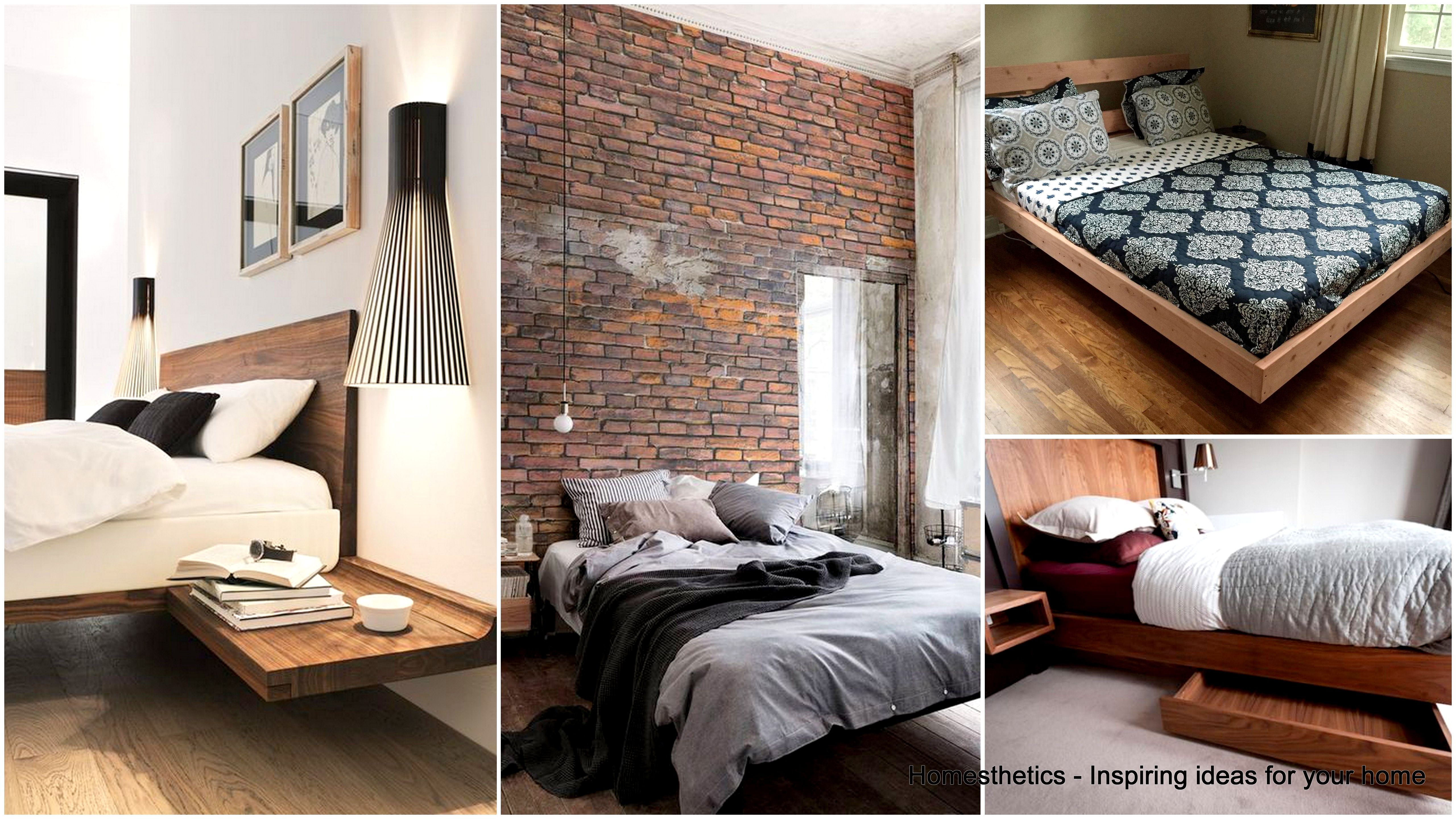 47 Stylish Floating Bed Design Ideas That Will Enhance Your Dream ...