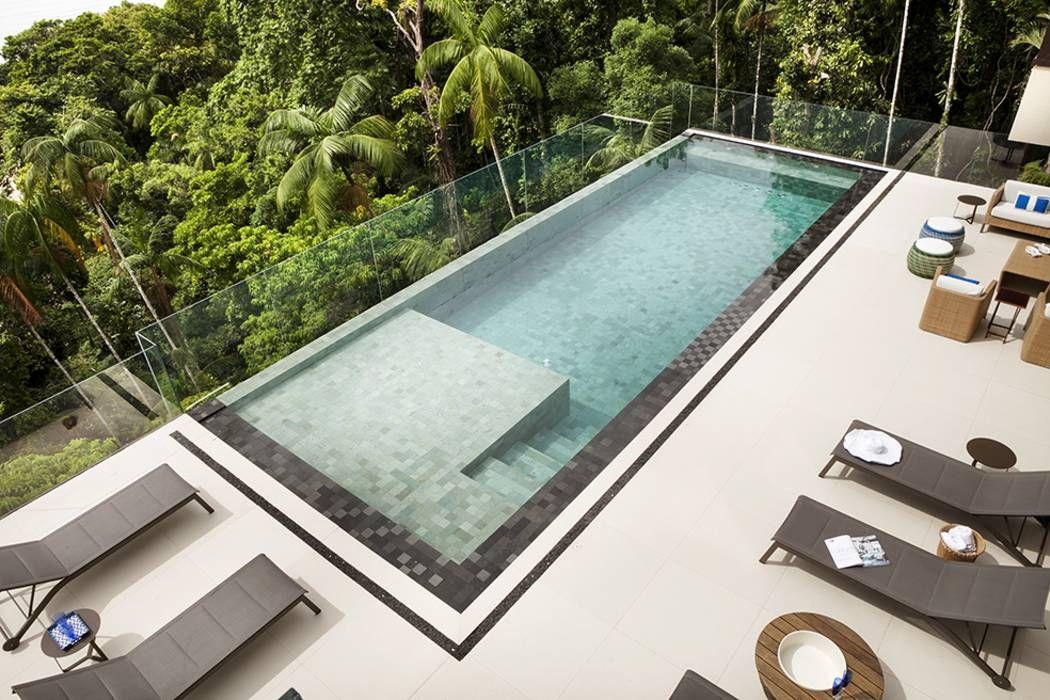 Piscinas De Estilo Moderno Por Infinity Es Spa Design Villa Hotel