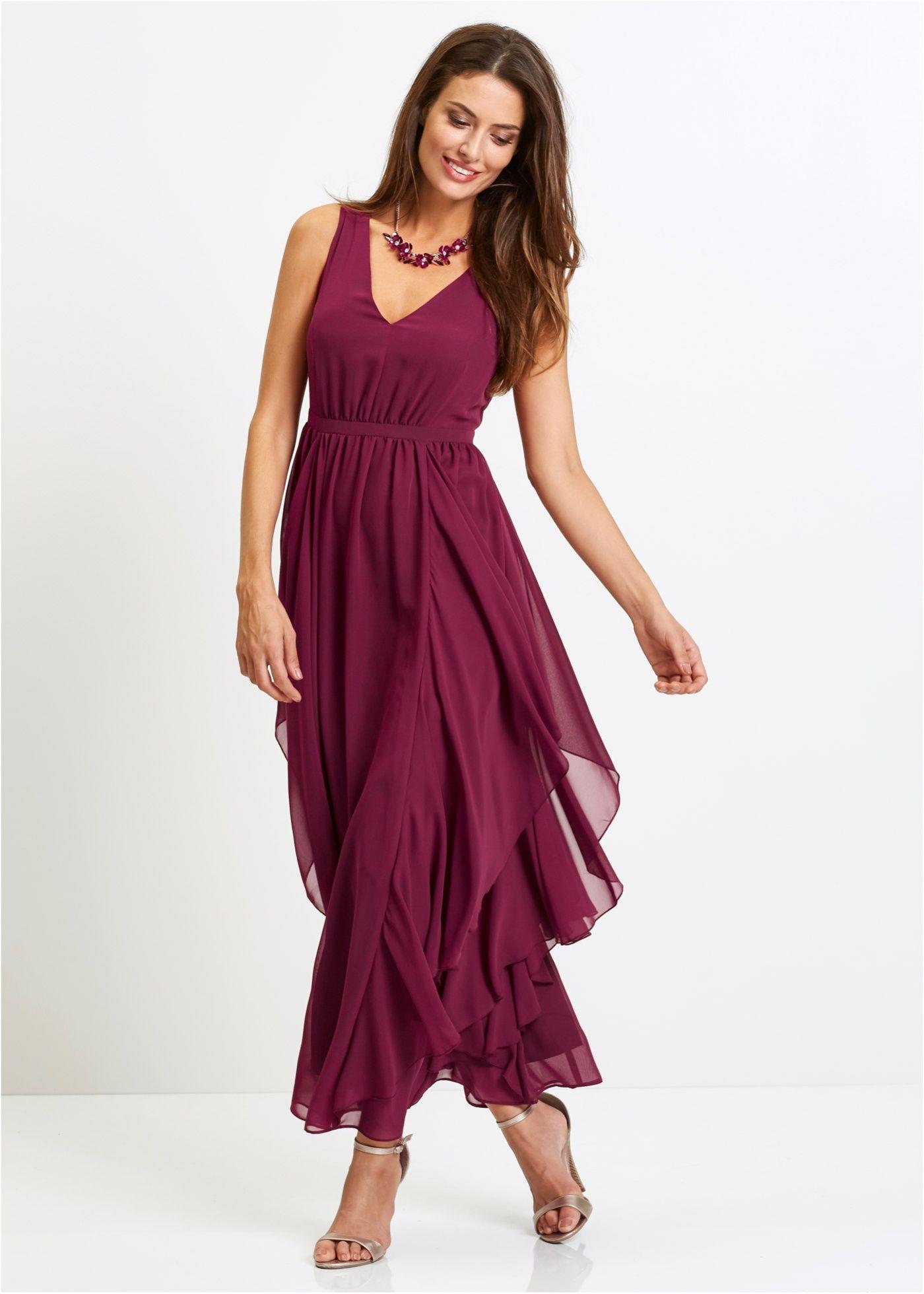 Premium Abendkleid magenta jetzt im Online Shop von bonprix
