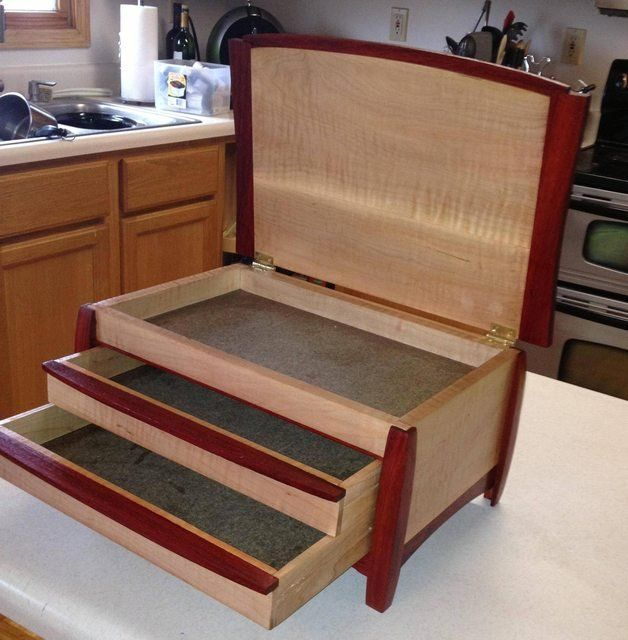 Build Your Own Jewelry Box Plans Most Popular and Best Image Jewelry