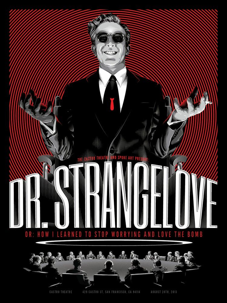Dr. Strangelove poster by Tracie Ching