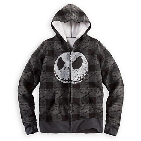 Jack Skellington Hoodie for Men | Fleece & Outerwear | Disney Store ...