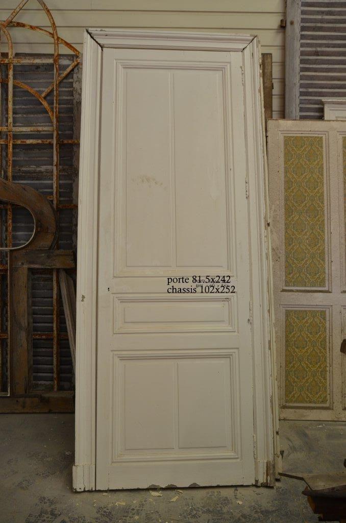 Portes Anciennes de Communication en Bois avec leurs Châssis Pinterest