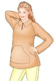 05aee5282 Patrones gratis para ropa de embarazadas