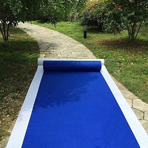 Amazon Com Paopu Aisle Runners Wedding Rugs 2mm Royal Blue Aisle
