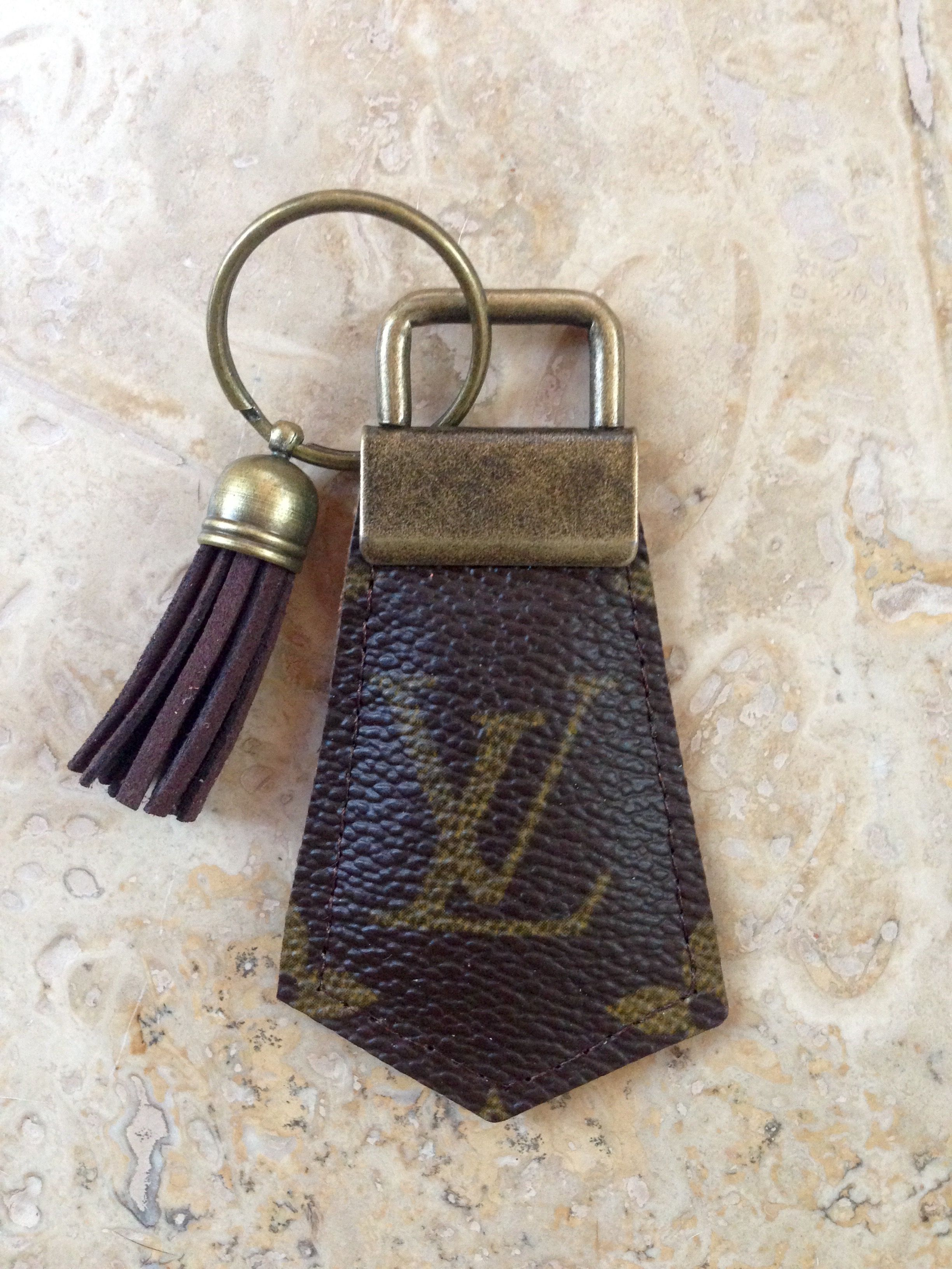 77fb6c50c317 Awesome repurposed Louis Vuitton keychain on eBay-see seller fob ulous