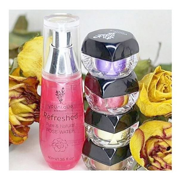 Mix Rose Water And Our Mineral Pigments For Rich Eye