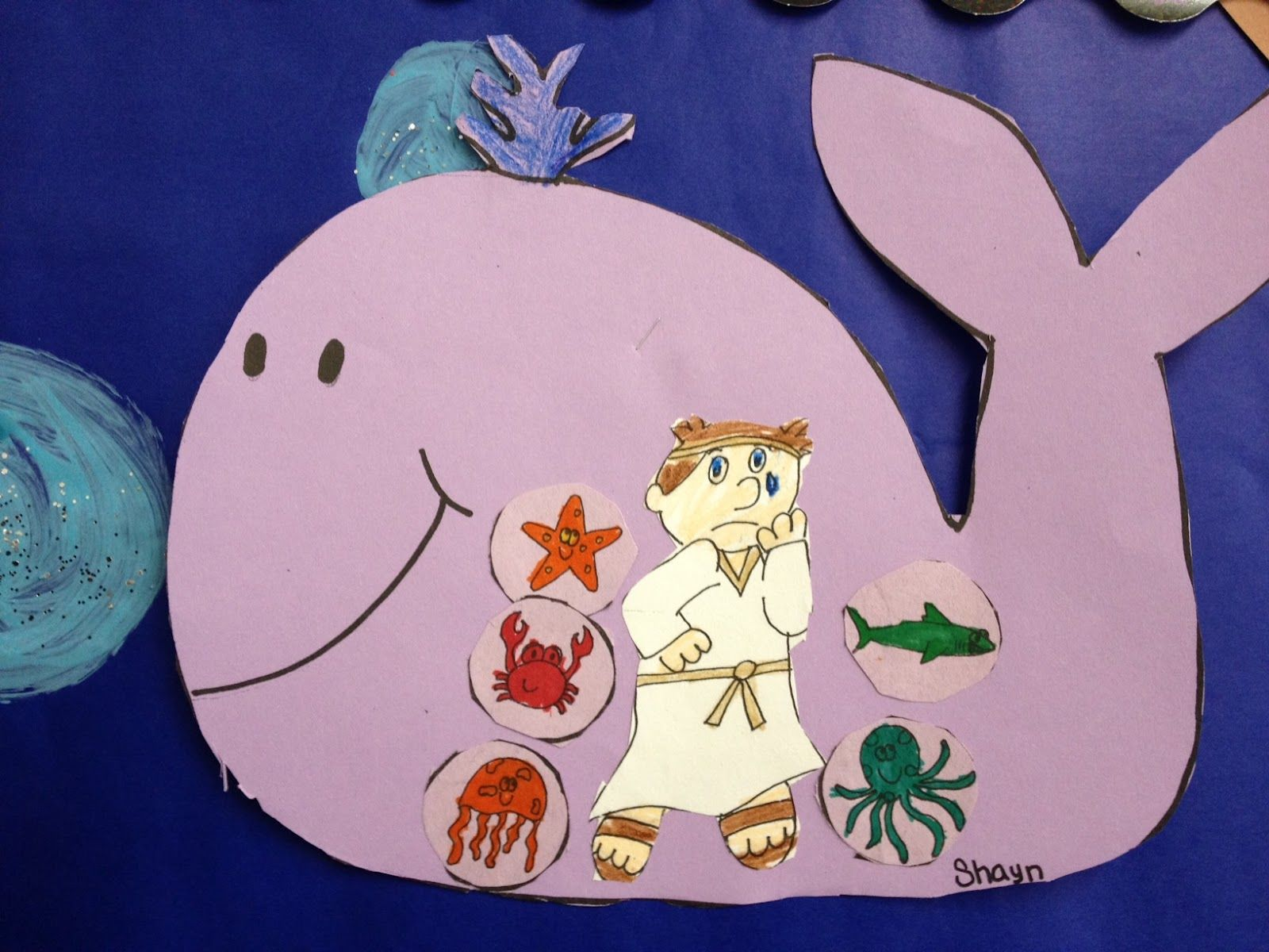 Pinterest Jonah And The Whale Crafts
